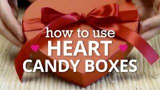 Heart Candy Boxes - Nashville Wraps