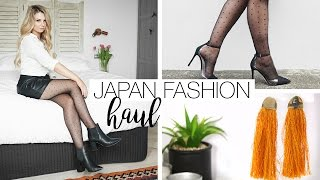 What I Bought In Japan - Try On Fashion Haul