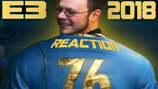Fallout 76 E3 2018 REACTION!!