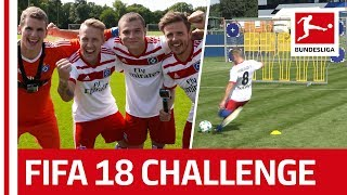 Müller Fail and Holtby Laughter - EA SPORTS FIFA 18 Bundesliga Free Kick Challenge - Hamburger SV thumbnail