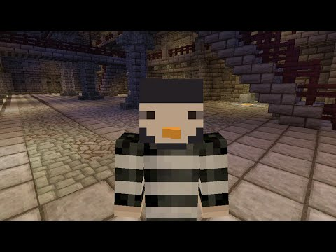 Minecraft XBOX Murder Mystery - Abandoned Prison - I'M THE MURDERER!