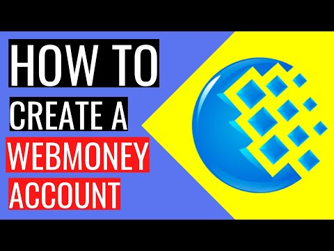 WEBMONEY What It Is | How To Create A WEBMONEY ACCOUNT Step By Step