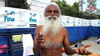 Rajendra Kumar Kanphade - Yoga, vegetarismo e sport