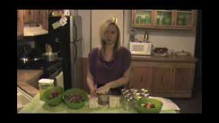Making Wild Fig And Strawberry Preserve