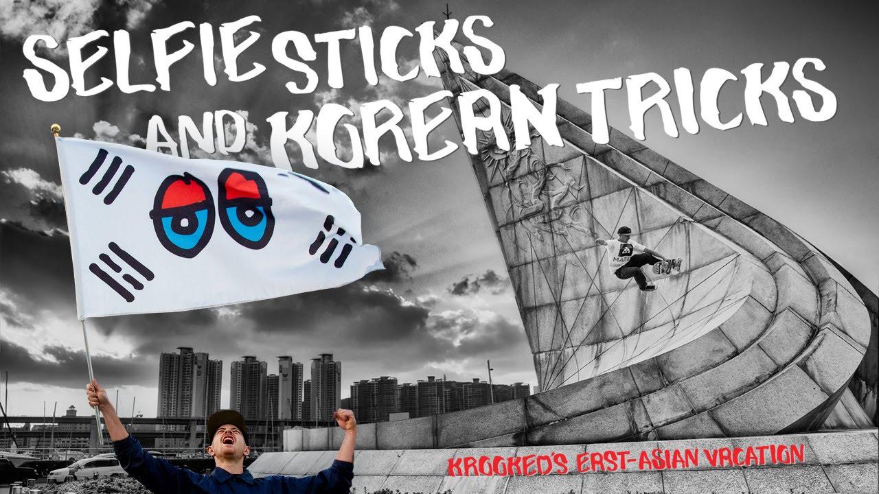 krooked 39 s selfie sticks and korean tricks video youtube. Black Bedroom Furniture Sets. Home Design Ideas