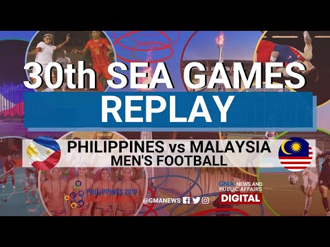 SEA Games 2019: (REPLAY) Philippine Men's Team Vs Malaysia | Football