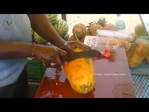 PAPAYA FRUIT SALAD | How to Make Papaya Fruit Salad | Summer Fruit Salads ~ VAGMI FOODS