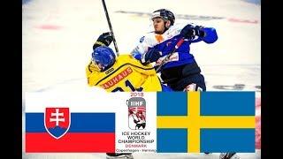 MS v hokeji 2018: Slovensko - Švédsko [HD]