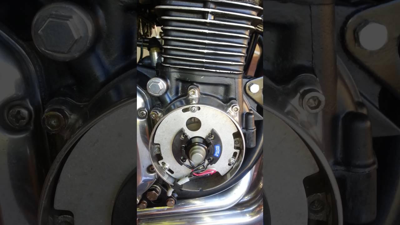 small resolution of kawasaki z900 1976 with dyna s electronic ignition youtube kawasaki kz900 dyna s wiring diagram