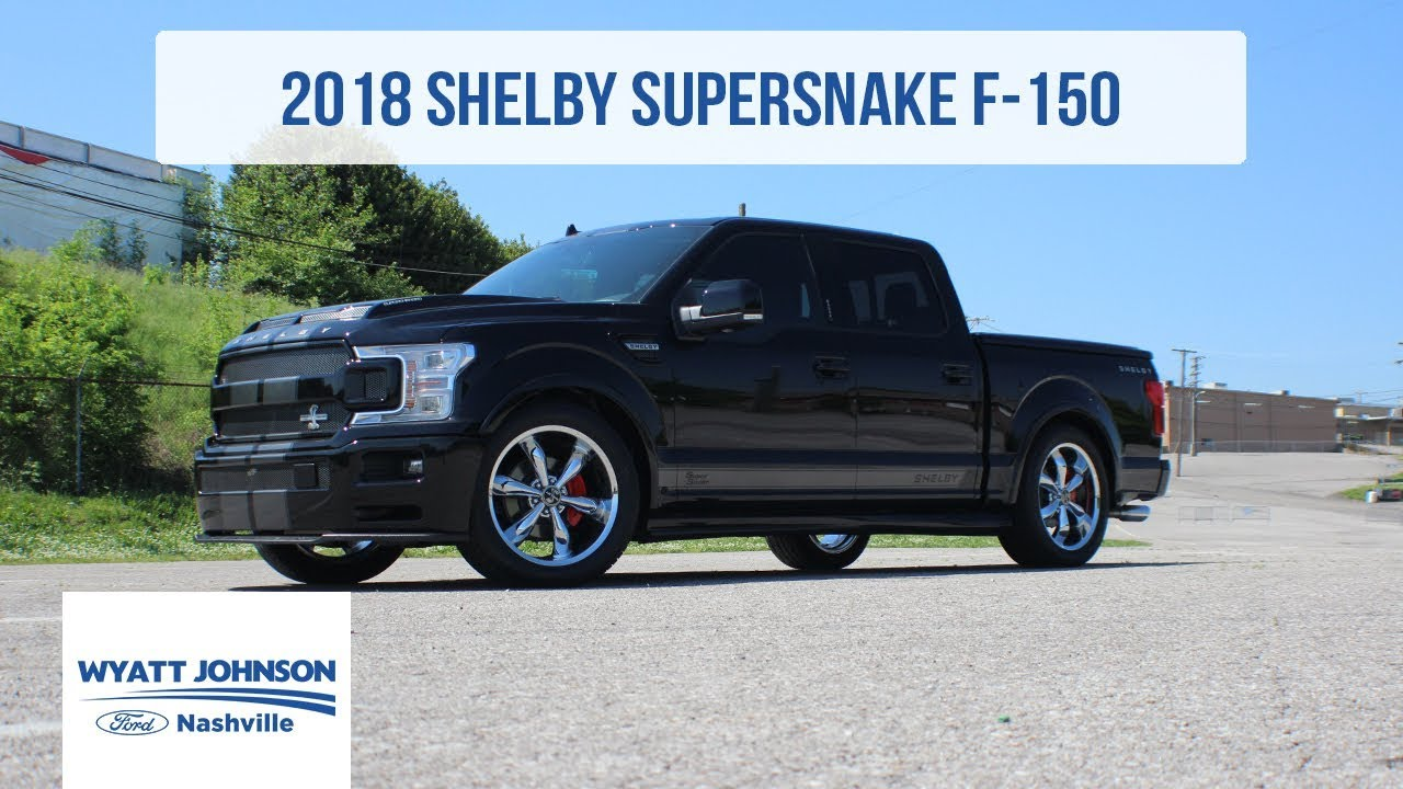 First Look 2018 Shelby Super Snake F 150 755hp Supercharged Youtube