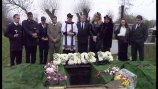 Spiros's funeral - Three Fights, Two Weddings And A Funeral - BBC