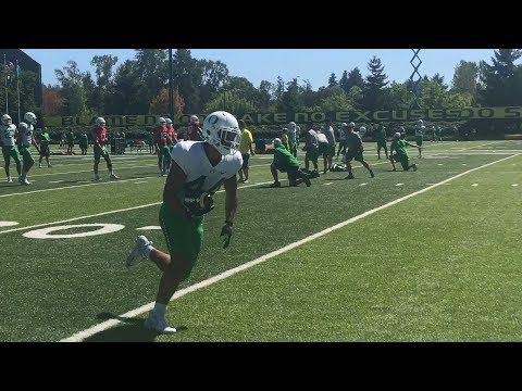 Oregon Ducks football: Sights and sounds from Day 15 of training camp