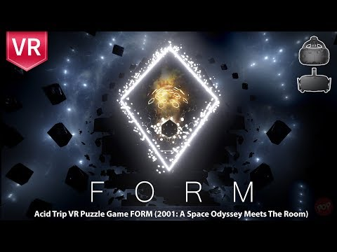 Form - Incredible game with immersive, beautiful surreal graphics in VR experience like never before