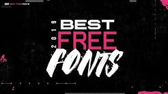Best Free Fonts for Designers (2019)