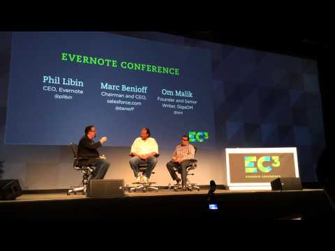 Evernote & Salesforce CEOs chat at Evernote Conference 2013