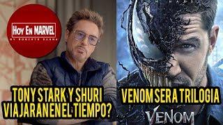 Baixar Tony Stark y Shuri Viajarán en el Tiempo | Venom será Trilogía | Hoy En Marvel