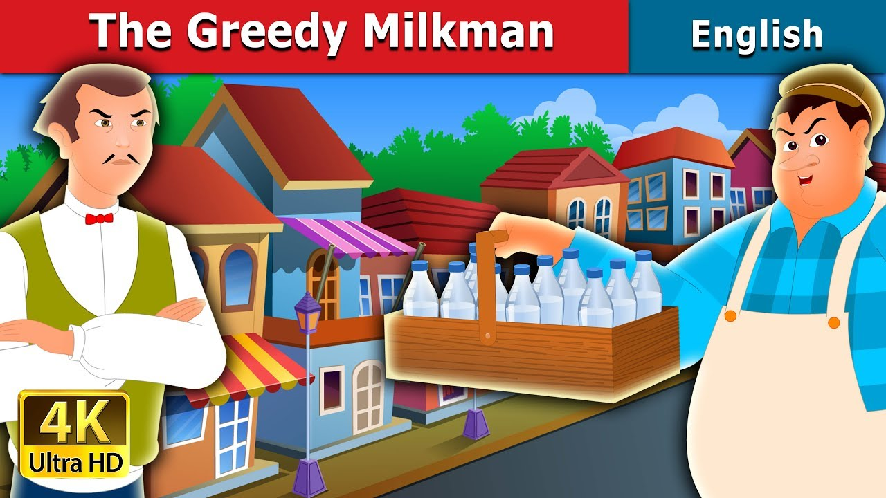 Download The Greedy Milkman Story in English | Stories for Teenagers | English Fairy Tales