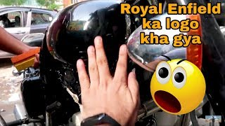 Tank Protection |Protecting tank from scratches | New Royal Enfield Classic bs4 | VBO Life | 2018
