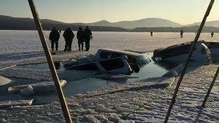 30 машин провалилсь под лёд. Ситуация в Приморье