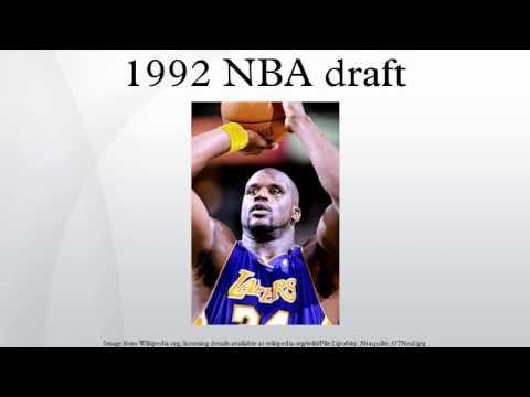 1992 NBA draft