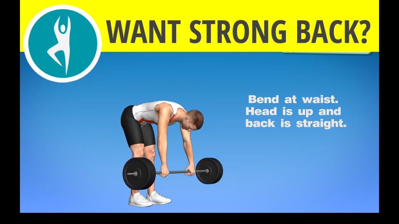 Back Workout with Barbell for Men & Exercise Your Lower Back ...