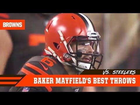 baker-mayfield's-best-throws-vs.-steelers- -week-11