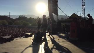 """The Starting Line """"Best of Me"""" [shot via side stage] - Taste of Chaos 7 / 16 / 16"""