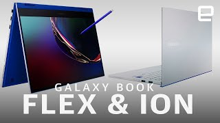 Samsung Galaxy Book Flex and Ion hands-on