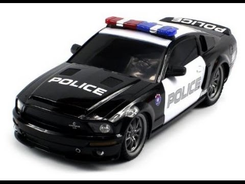 Licensed Mustang Shelby Gt500 Super Snake Police Electric