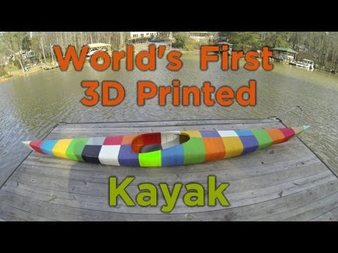 Adventure Tech: The World's First 3D Printed Kayak