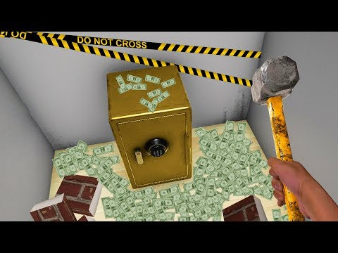 FINDING THE MOST VALUABLE SAFE! - House Flipper