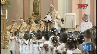 Homilia Papieża wygłoszona podczas Mszy św. w kościele p.w. Najświętszego Serca w Rakowskim