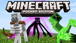 NHỮNG CON QUÁI VẬT ĐỘT BIẾN KHÔNG NÊN XUẤT HIỆN TRONG MCPE | Minecraft PE 1.0.5