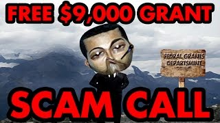 Trolling Scammers: My Free $9000 Grant - The Hoax Hotel