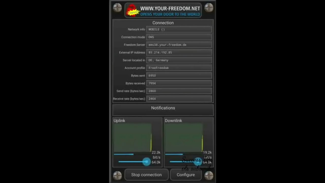 freedom apn for android