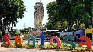 Sentosa Island Tour Singapore Universal Studios, Adventure Cove, Madame Tussauds, Luge, Merlion, VR
