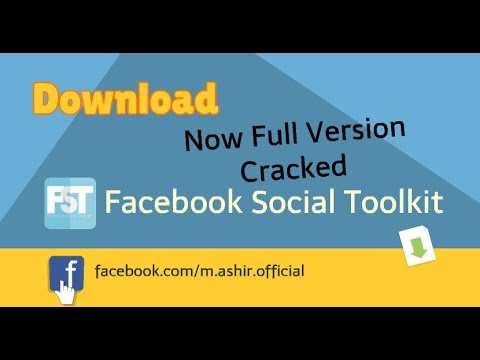 Facebook Social Toolkit Full Version Cracked For Life Time By Muhammad Ashir