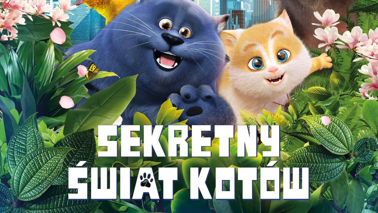 Sekretny świat kotów - zwiastun PL (premiera: 4 stycznia 2019)