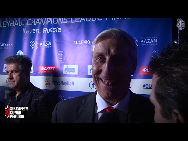 CLF4Kazan, Stefano Recine dopo Zaska - Perugia