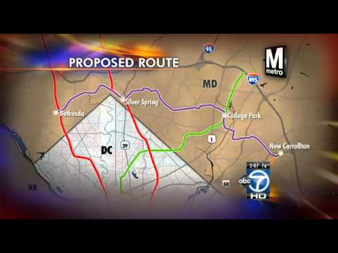 Purple Line to get $400 million infusion from Maryland