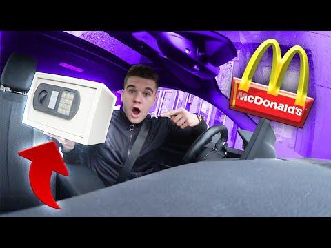 McDonalds PRANK | TRESOR AUFBRECHEN UND DAMIT BEZAHLEN !