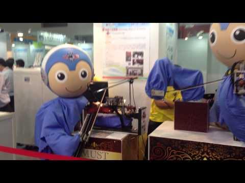 2015 南港展覽明新小提琴機器人