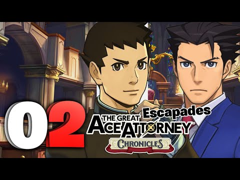 Download The Great Ace Attorney Chronicles Escapades HD Part 2 HOLD IT MR Wright! (PS4)