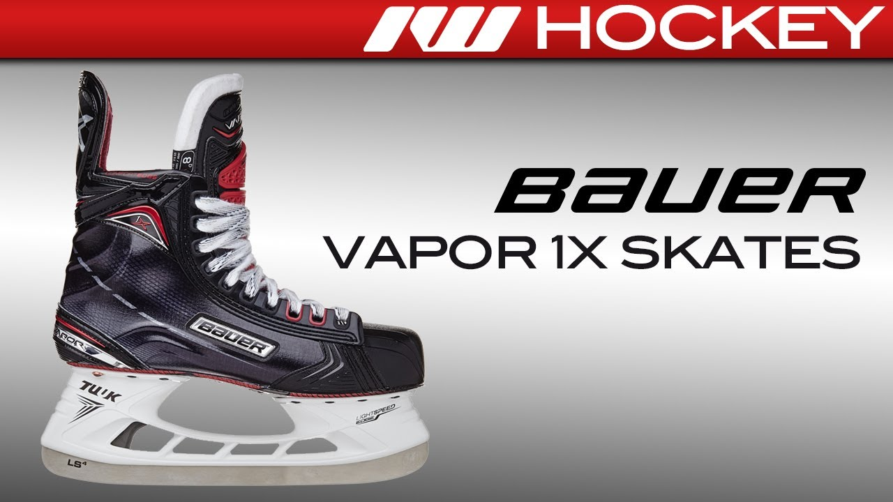 5591cca2c06 2017 Bauer Vapor 1X Skate Review. Ice Warehouse