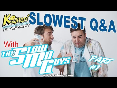 SLOWEST Q&A With (The Slow Mo Guys) Part-1