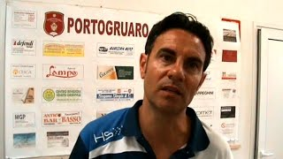 PORTOGRUARO - FOSSALTESE: 3-3 INTERVISTA MISTER THOMAS GIRO