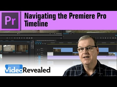 Easy Timeline navigation in Adobe Premiere Pro