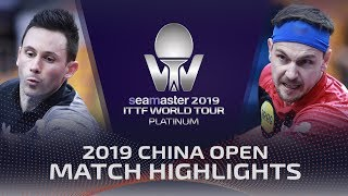 Gambar cover Timo Boll vs Joao Monteiro | 2019 ITTF China Open Highlights (R32)