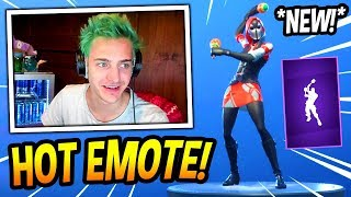 "NINJA REACTS TO *NEW* ""SHAKE IT UP"" EMOTE/DANCE! *EPIC* Fortnite FUNNY & SAVAGE Moments"