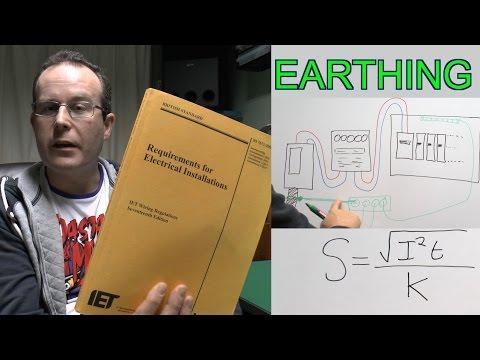 Earthing & Bonding - Part 1 : Earthing